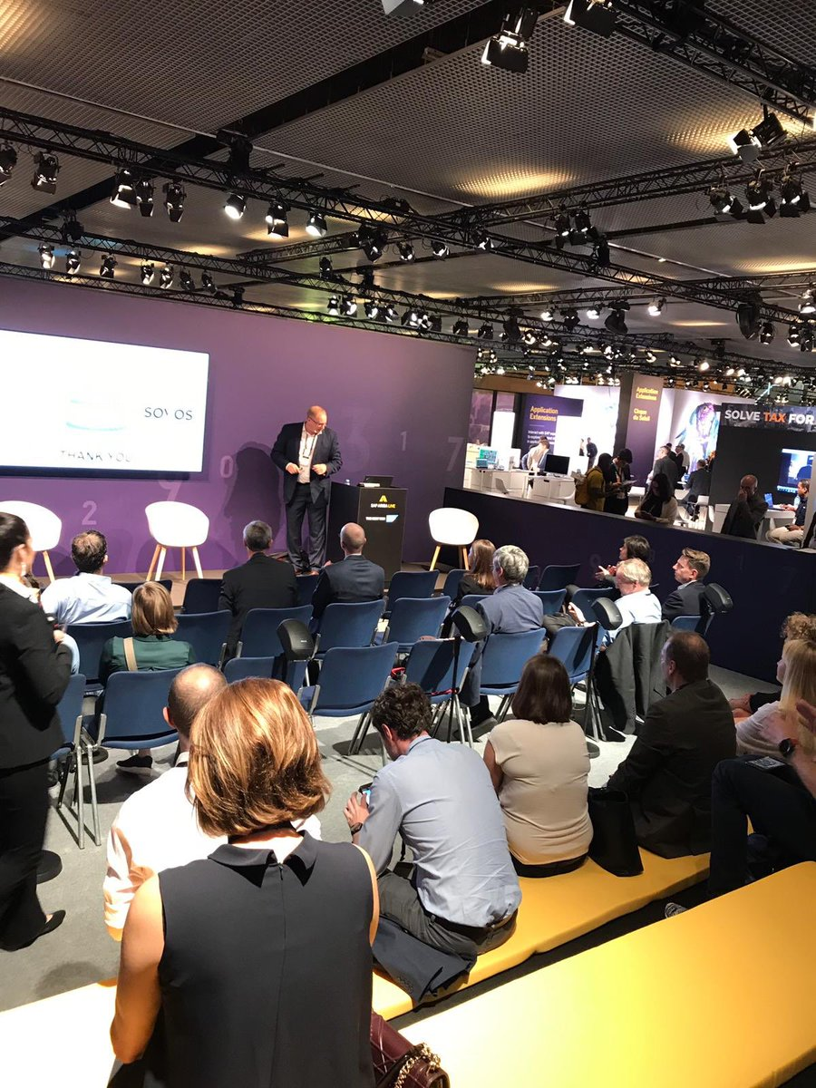 Thanks to everyone who attended Christiaan van der Valk's session yesterday at #SAPAribaLive. If you'd like to know more about 'The OTHER Digital Transformation', visit us on stand G7. #SolveTaxforGood