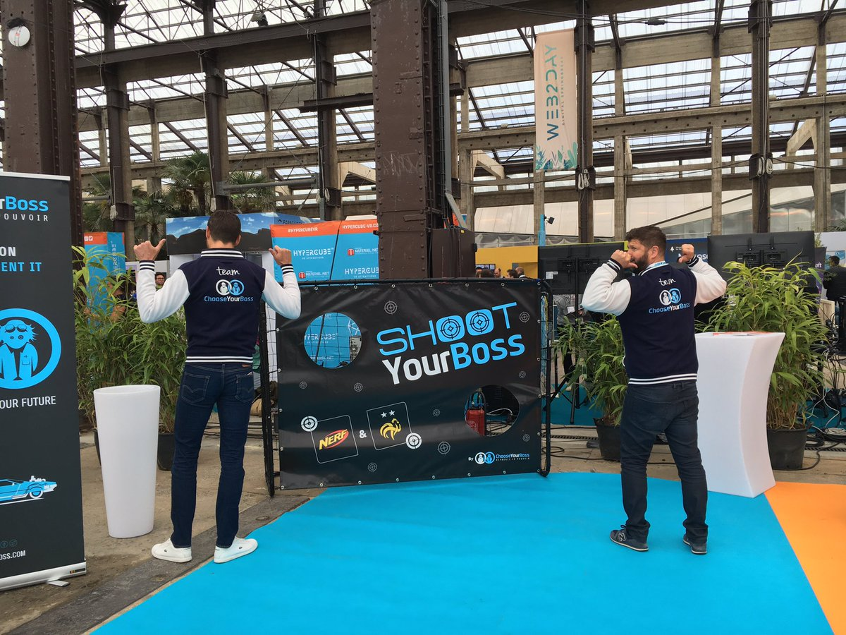 Let's go @web2day #web2day !  #shootyourboss #digital #innovation #tech<br>http://pic.twitter.com/tzE6cW9iPg