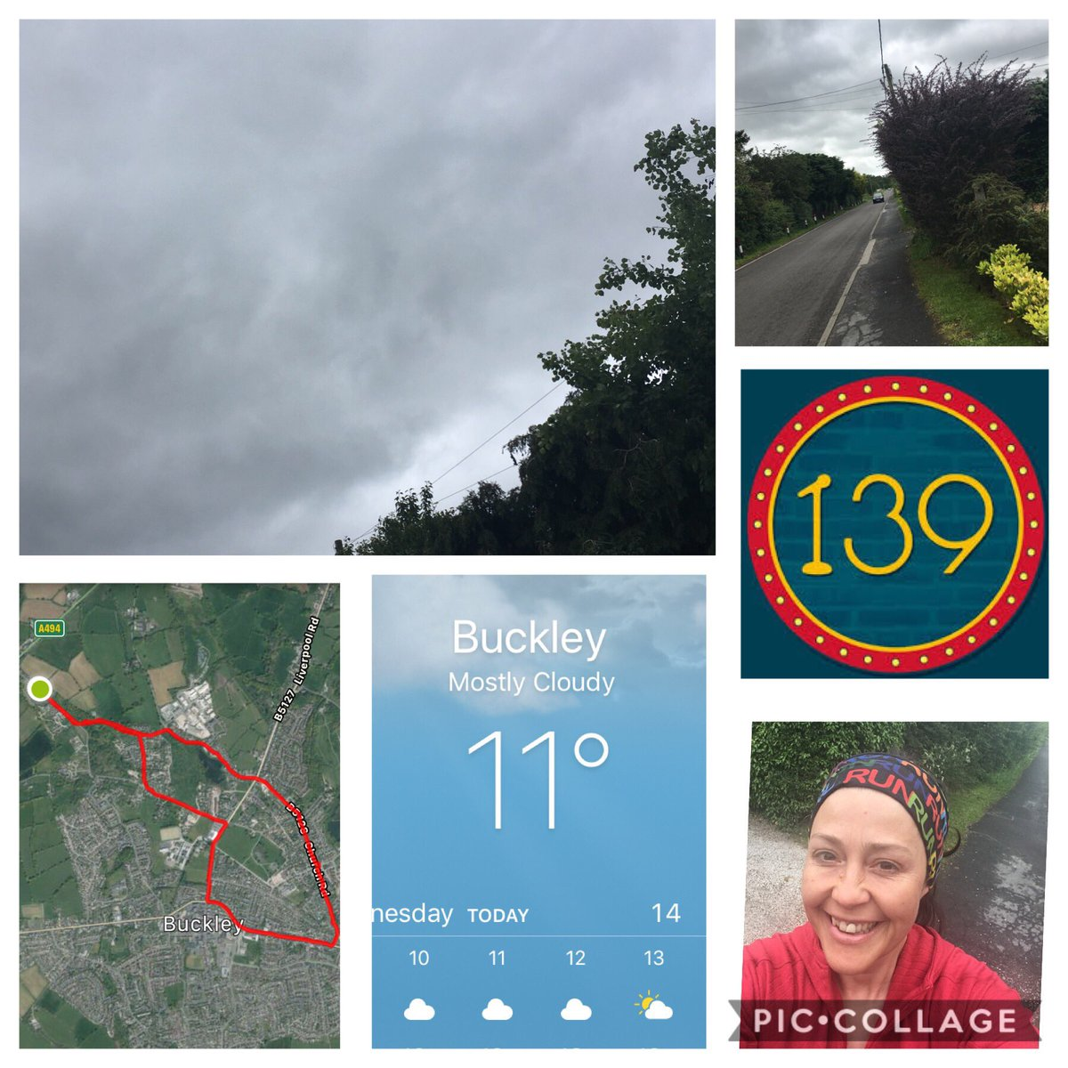 Look at those grey skies , very miserable for June, but 139th 5k EVER #5kever in the bag . Had the long sleeved top on today, I mean 11' in June! Depressing @slimmingworld @uamapmyrun #run #runlaurarun #running #runner #uk #wales #intraining @dementia_uk #doingitfordadpic.twitter.com/gpM0Xh8nhH