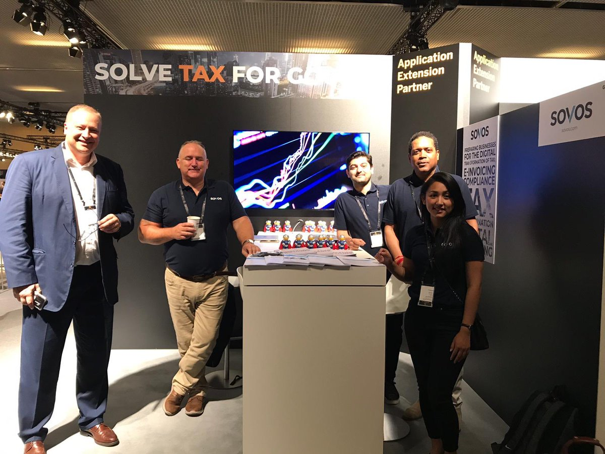 Good morning from Barcelona! We're enjoying another day at #SAPAribaLive. Visit Sovos on stand G7, we're ready to help you solve your tax compliance for good.