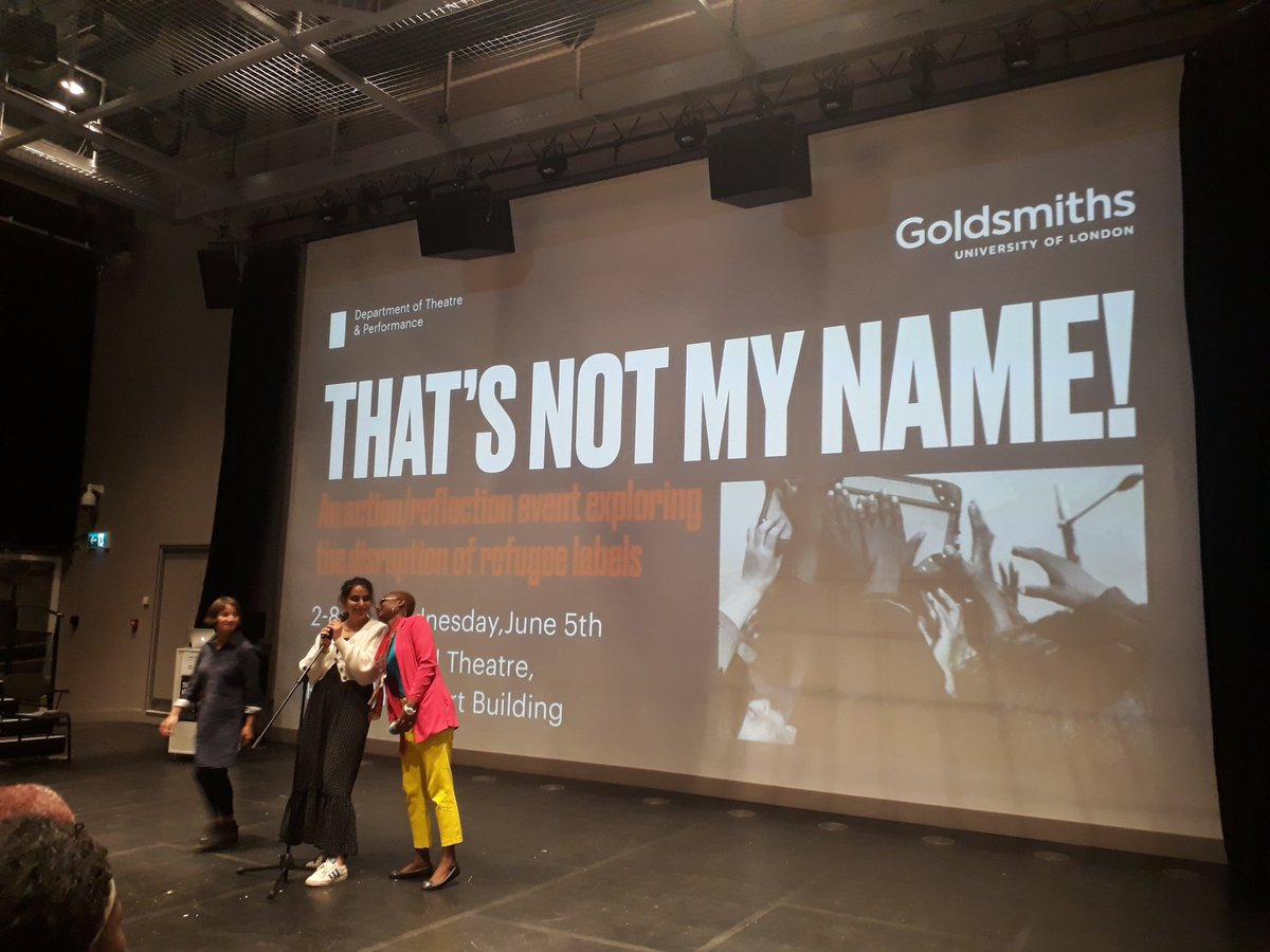 Stand up comedy with @NourSisserian and brave participants! @GoldTap #thatsnotmyname
