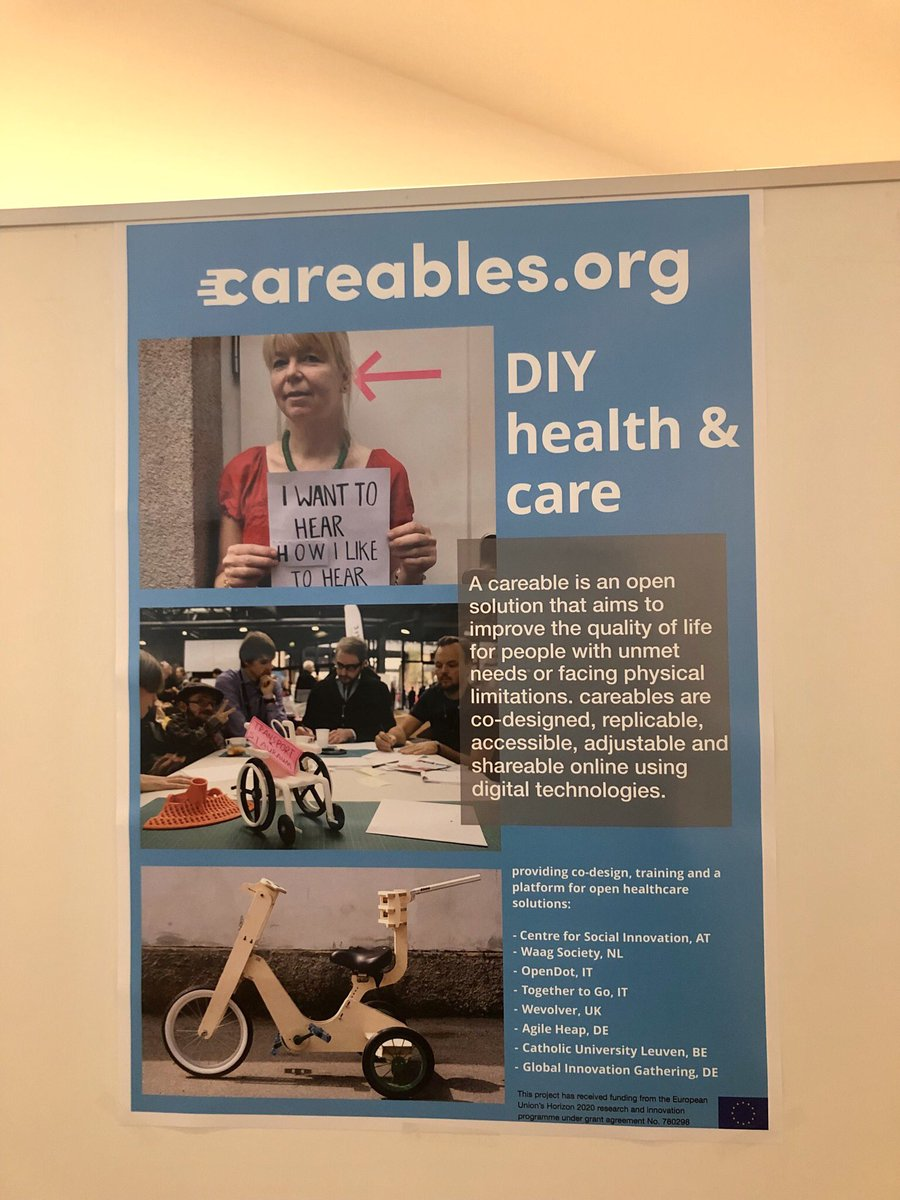 test Twitter Media - The @CareablesOrg poster and showcase table are up for presentation #comtech2019 #openhealth https://t.co/EsGXbekRQk