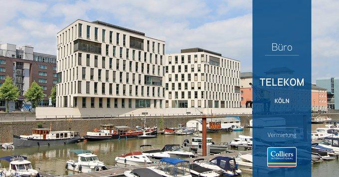 Deal: Colliers vermittelt 6.300 m² Bürofläche im Kölner Rheinauhafen<br><br>Die Mobilfunkmarke congstar verlegt ihr Headquarter in die Bayernwerft 12-14, auf zwei weiteren Etagen wird zudem eine Abteilung der Deutschen Telekom AG einziehen. Alle Infos:  t.co/FJv9e4114r