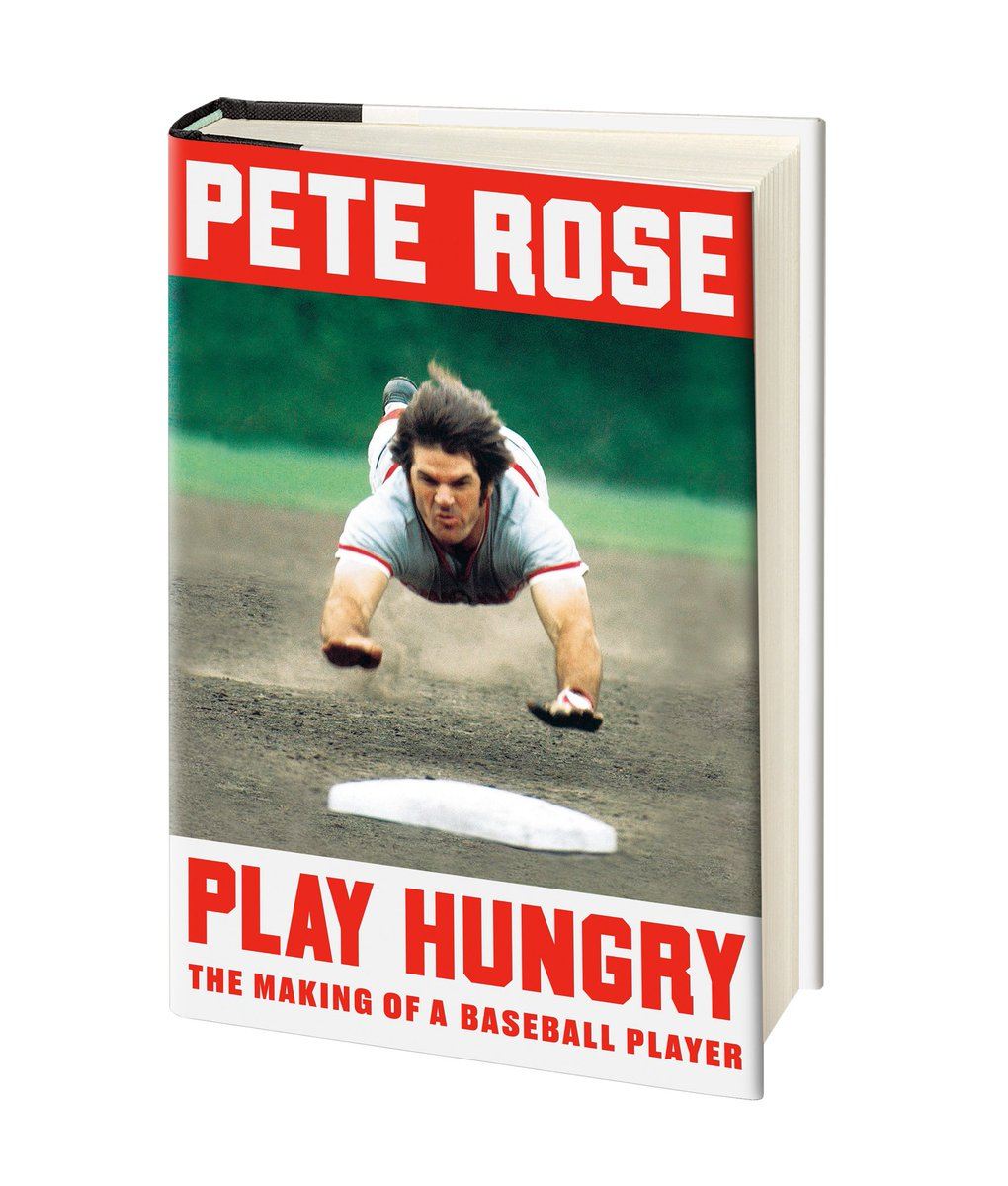 "✍️⚾️ My new book #PlayHungry is on sale now. It's my love letter to baseball, from playing catch as a kid with my dad, to coming up in the minors, to making it to the big leagues, to teaching the game to my son. I hope you enjoy it."" Link to:"