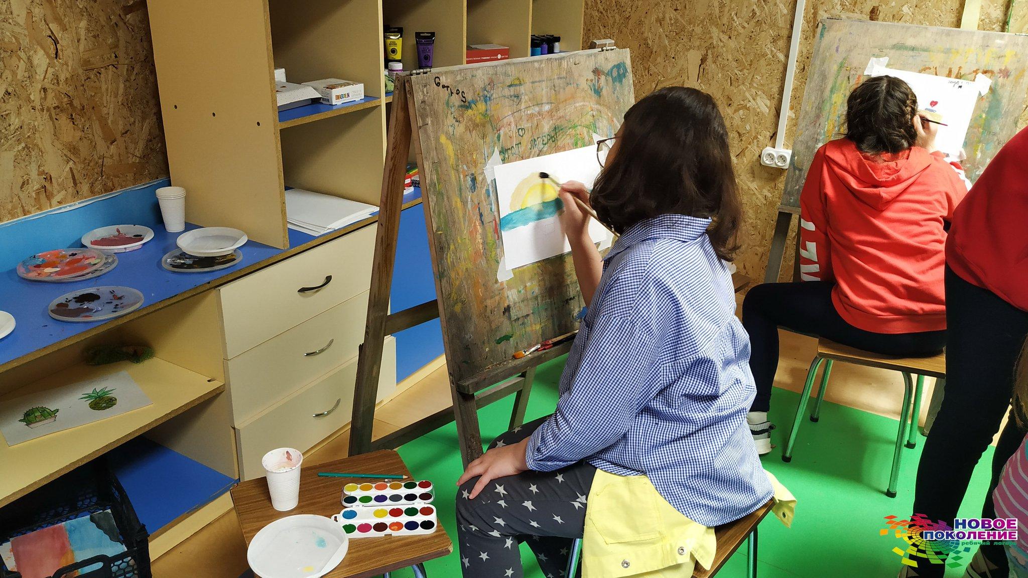 картинки творческая мастерская с детьми