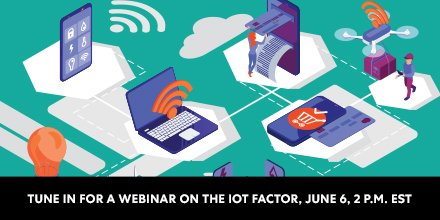 Tomorrow we'll co-host a webinar about how a connected world will change your company, industry and our society. Details here:  📆: 6/6/2019 🕰️: 2:00 p.m. EST 🔗: http://bit.ly/2InijLD