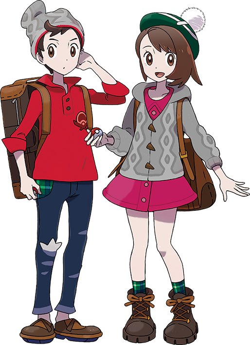 RT @futurexhope: Gathered all the official #PokemonSwordandShield art for artists use.  RT to save an artists life https://t.co/9v3ZapYBzc