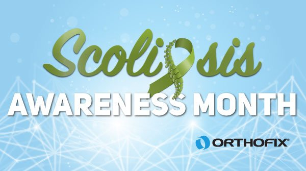 June is #ScoliosisAwarenessMonth.  Let's dedicate this month  to all of Orthofix's Scoliosis Warriors out there! @SRS_org