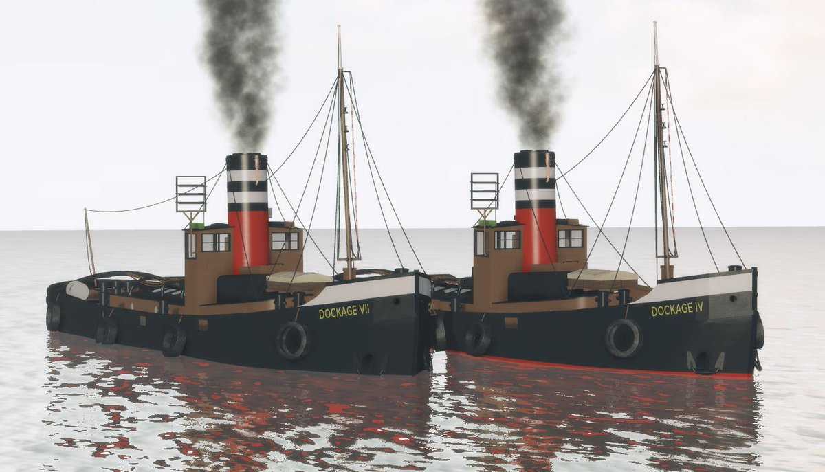 In 1940 a Soviet Russian company ordered 8 steam tugs, but