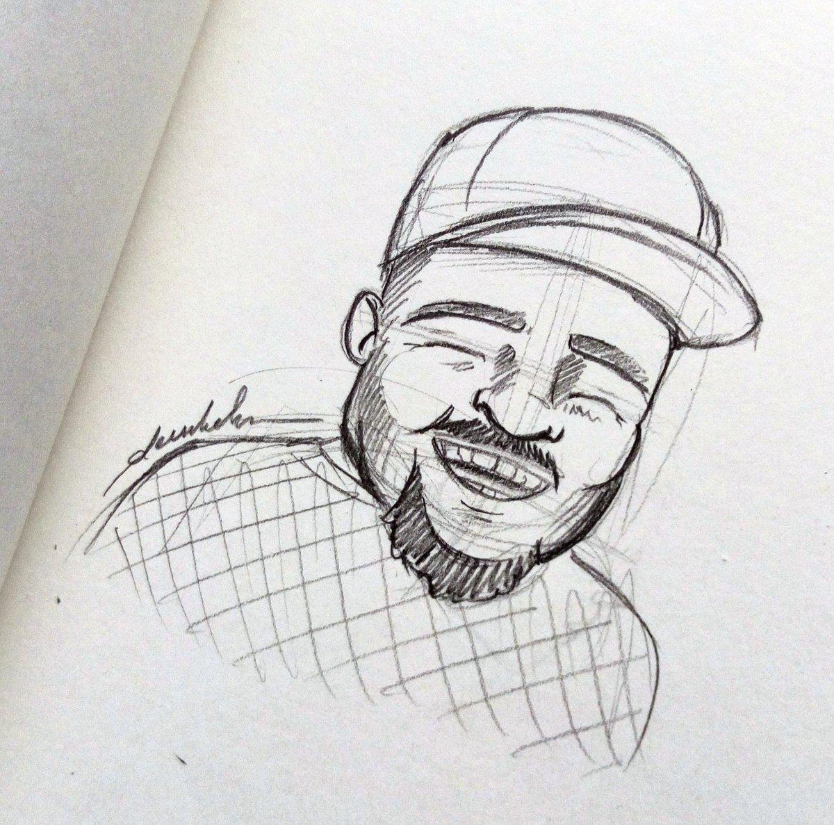 Just smile #dailyart #dailyillustration #portrait #justsmile #smile #face #character https://t.co/OgzMt3IIEj