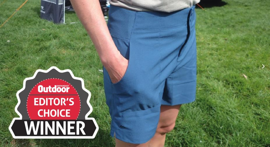 """Gear Guide: """"These shorts are very smart but really practical for the trail, primarily because of their comfort"""" @JenRoberts70 awards Editor's Choice to @KathmanduGear Trailhead Shorts in our women's #trekking shorts test: http://www.oe-mag.co.uk/imag/oesummer19/index.html?page=66… #gear #review #hiking"""