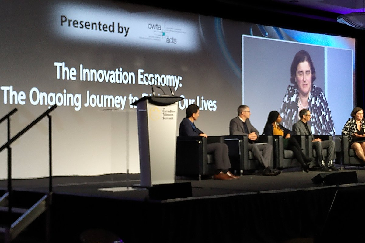test Twitter Media - The Innovation Economy: The Ongoing Journey to Digitize Our Lives, moderated by @NamirAnini_ICTC of @ICTC_CTIC, featuring @aishaafua of @_power2girls & @DriveHerApp, Alexandra Greenhill of @getcareteam, Elio Salvadori of @createnet, and @jcfahmy of @CENGNCanada at #CTS19. https://t.co/OxzK1A33EA