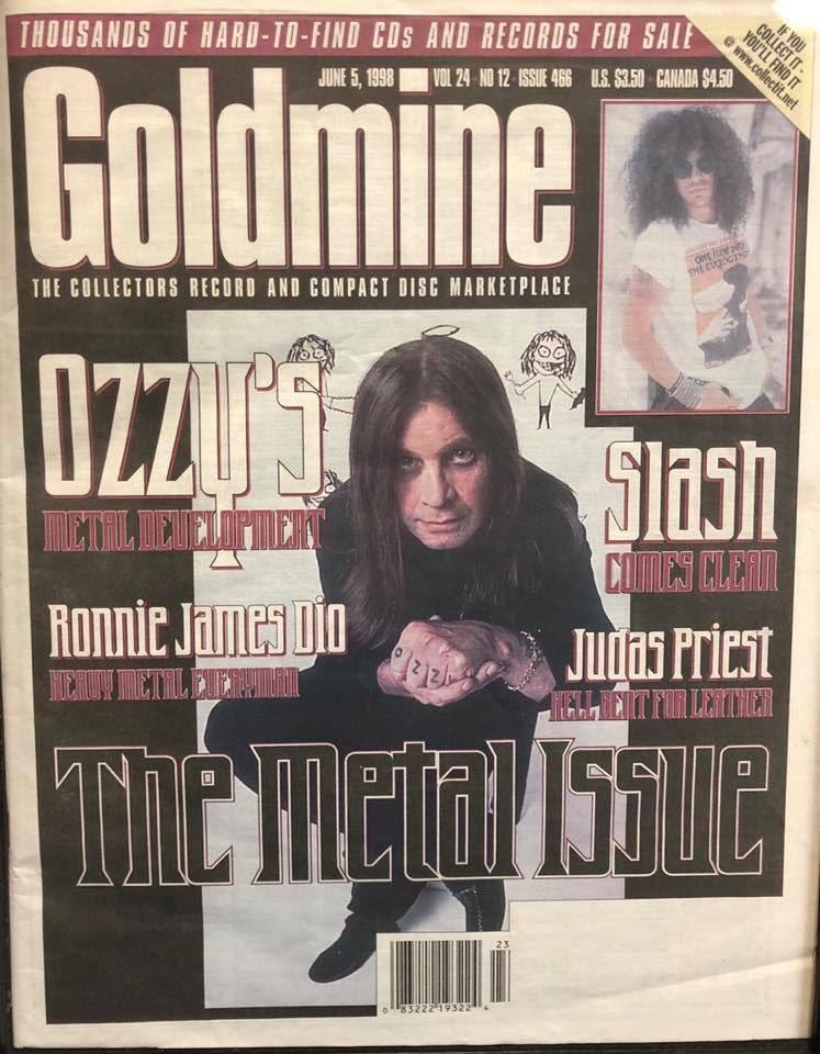 June 5, 1998 Goldmine Magazine