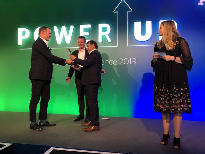 Global Partner Awards 2019 @Paritel wins Cloud Partner of the Year, sponsored by...