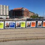 Image for the Tweet beginning: Fire ugers valgkamp er slut
