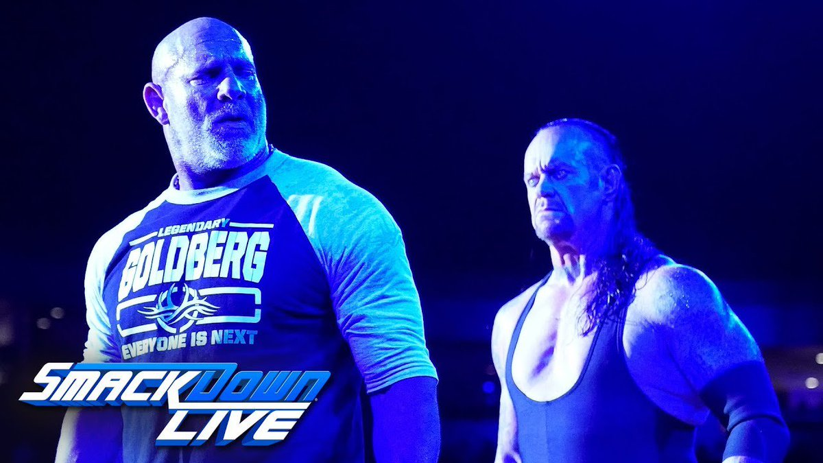 Mark Henry addresses Goldberg vs. Undertaker at #WWESSD https://t.co/Cj1RUvhIwA #WWE https://t.co/SY6Ljwe2N2