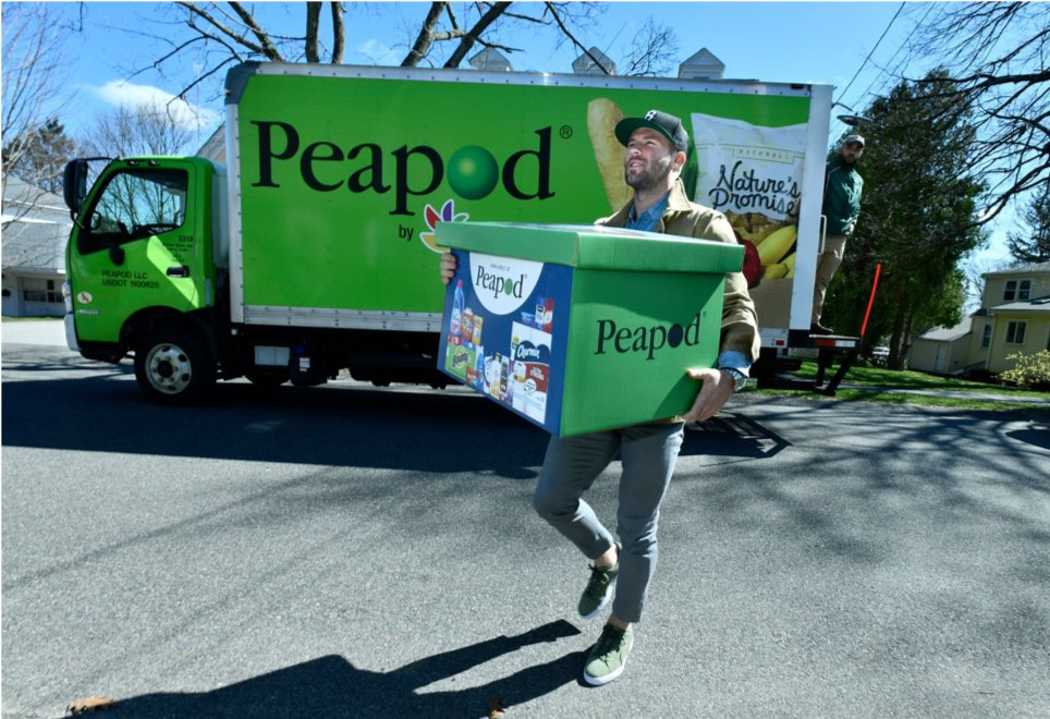 Boston, this Friday, I'm delivering groceries for my friends at Peapod. I want to help you get ready for your summer BurgerTyme with some great food & cleaning products. Remember to place your order today.
