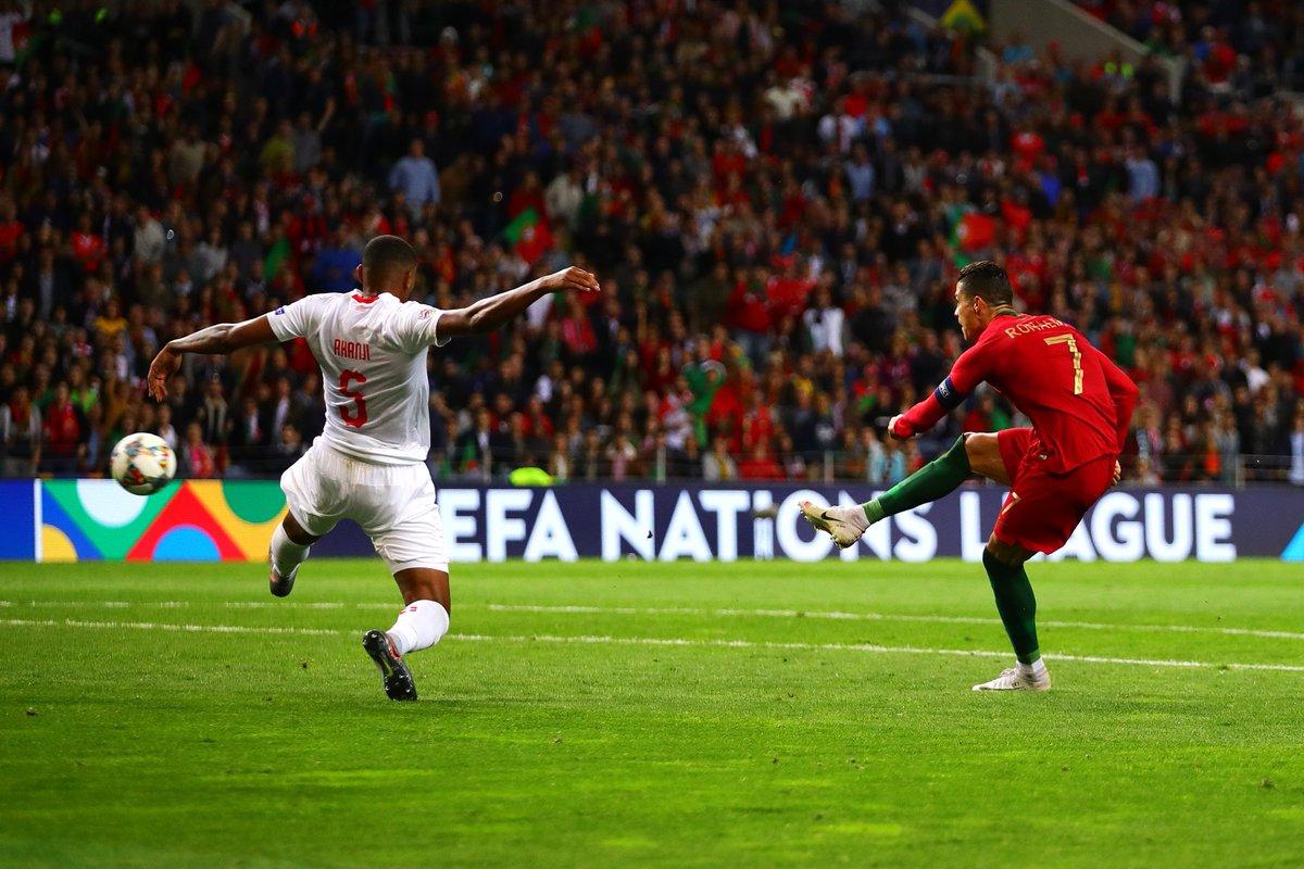 Лига наций. Португалия - Швейцария 3:1. Нетленный фактор Роналду - изображение 3