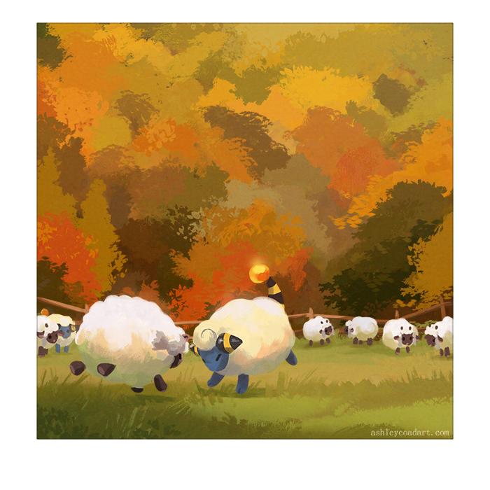 RT @verlibird: I can't wait to have my very own herd of sheep  #pokemon #pokemondirect #wooloo https://t.co/6s0ZFPWWkI