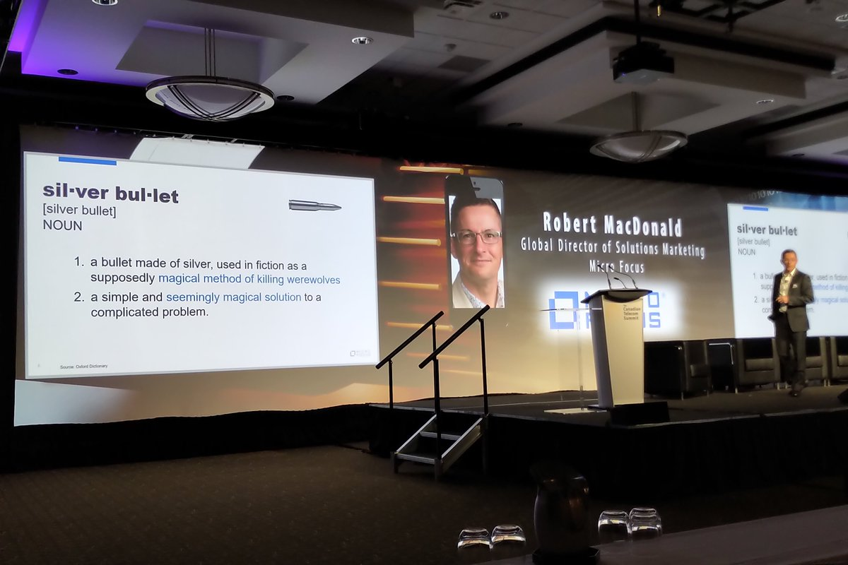 "test Twitter Media - Robert MacDonald, Global Director of Solutions Marketing at @MicroFocus and cybersecurity expert, discusses how there is no ""silver bullet"" solution to the complex issue of privacy and security at #CTS19 https://t.co/dNnfz7jMkS"