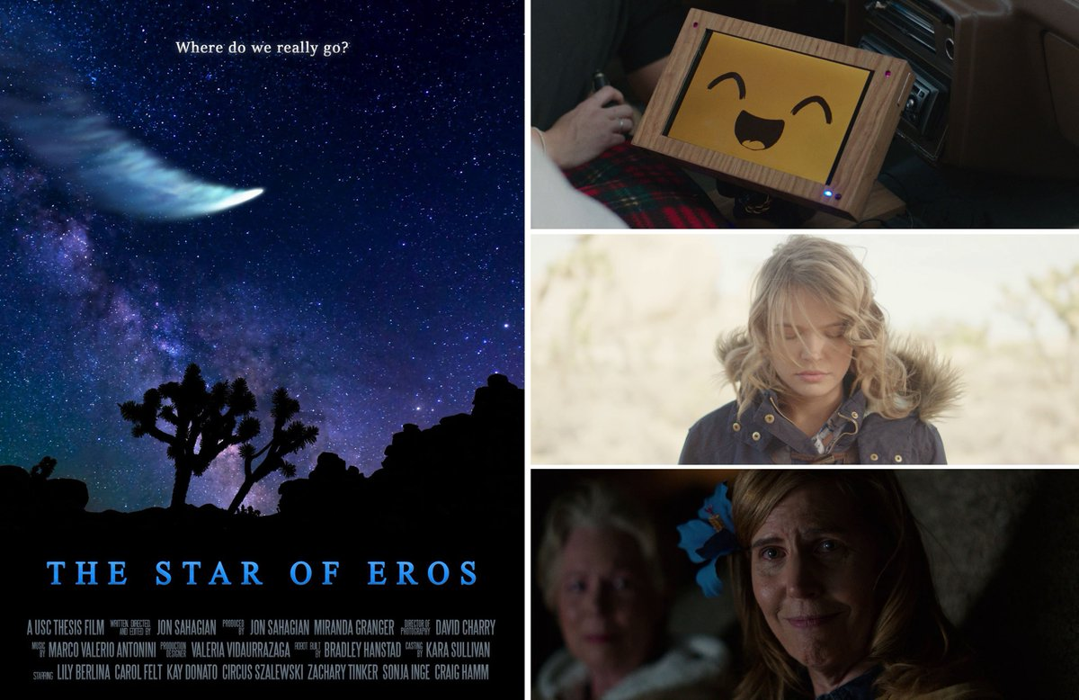 """tweet-My film """"The Star of Eros"""" has been chosen out of thousands to screen at the @danceswithfilms festival at Hollywood's historic Chinese Theater! If you're in the LA area on Sat, 6/15, I'd be thrilled if you came to see it! (Pokemon fans will LOVE it!) Info: https://t.co/69HsgOpEXM https://t.co/qivroiCFtC"""