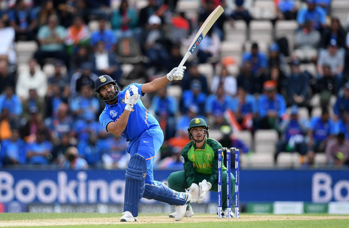 A wonderful, mature innings from Rohit Sharma. Great assessment of the situation and seeing India through to the win in the end, a hallmark of top players @ImRo45 . A well begun World Cup campaign for Team India #INDvSA