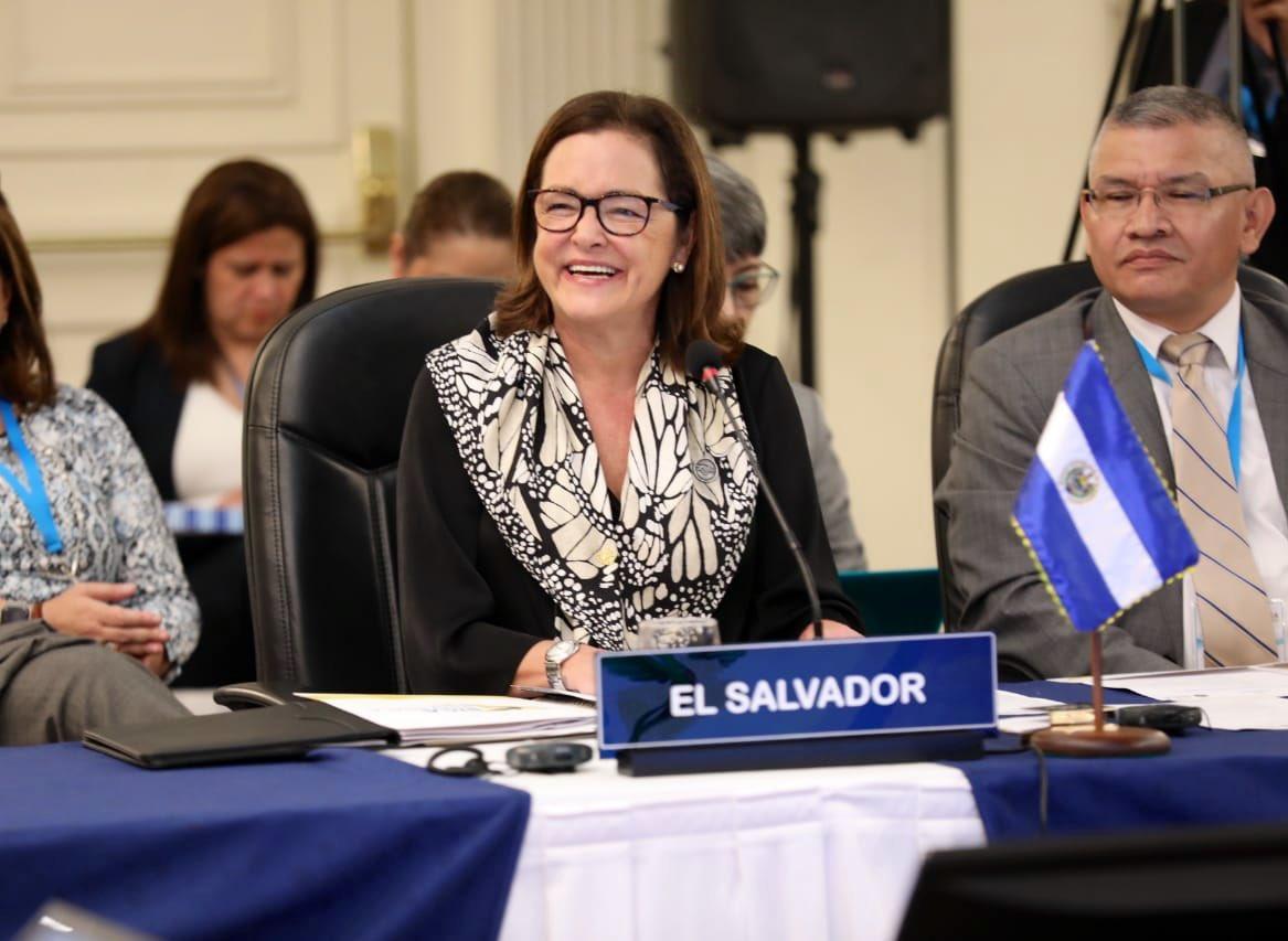 """Alexandra Hill Tinoco on Twitter: """"El Salvador participó activamente en la  LXXVIII Reunión del Consejo de Ministros de Relaciones Exteriores del  @sg_sica, donde se abordaron importantes asuntos de la agenda de integración"""
