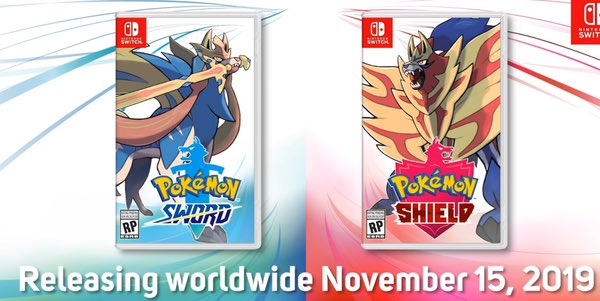 POKÉMON SWORD AND SHIELD GIVEAWAY! I'm giving away a copy of both Pokémon Sword and Pokémon Shield, all you have to do is follow me, and like and retweet this tweet to enter. Winner will be chosen shortly before the games release. Good luck!