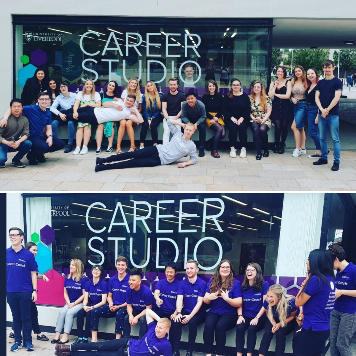Sad day for the #careerstudio today as we say goodbye to 10 of our Career Coaches. We always had faith in our #peer2peer model but knew we needed the best students to succeed.This talented bunch certainly didnt disappoint. #Goodbyeandgoodluck🍀