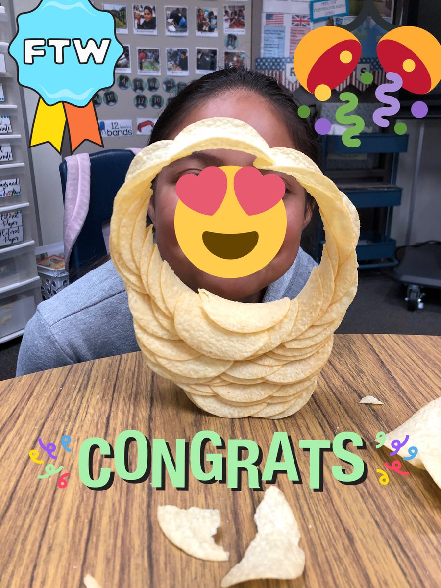 Gina Whitcomb On Twitter Our Class Pringles Ringle Stem Challenge Was A Success Can You Build A Pringlering From One Can Of Pringles Https T Co Kq7lklnvgj