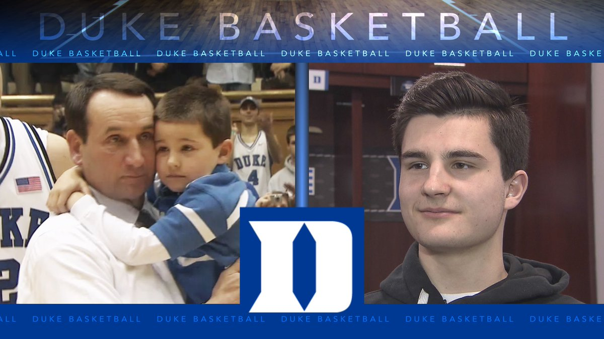 "Today at 6 on @WRAL, from ""Poppy"" to Coach. Mike Krzyzewski will coach his grandson @michael__sav this year for @DukeMBB"