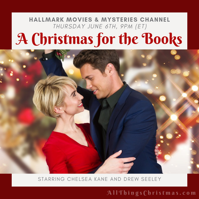 Tomorrow Night on Hallmark M&M - don't miss A Christmas for the Books! <3 Get the full June Schedule for BOTH Hallmark Channels (just released) Free Printable Download on: http://www.allthingschristmas.com/tag/hallmark   #hallmark #hallmarkchristmas #countdowntochristmas #Hallmarkmovies #hallmarkies