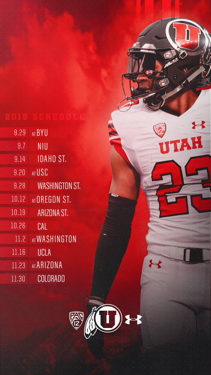 Utah Football On Twitter Were 85 Days Out So Why Not Update Your