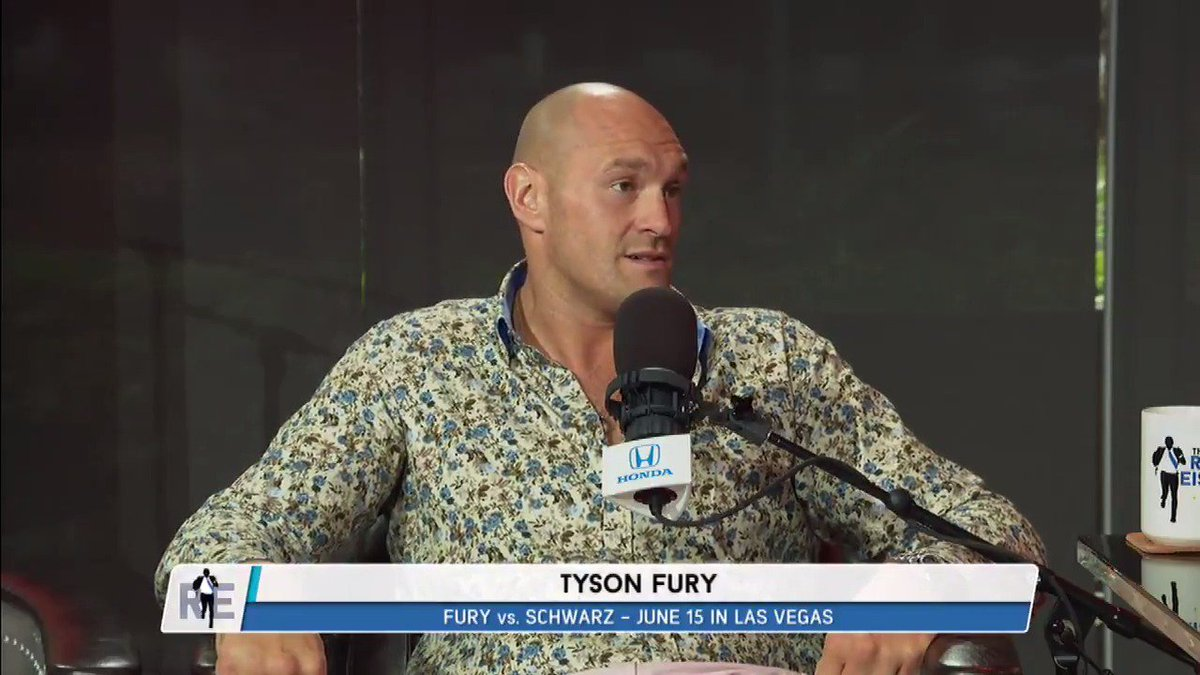 Wow. One of the most powerful and raw discussions on mental health you will ever hear from a professional athlete. Kudos to the champ, Tyson Fury.