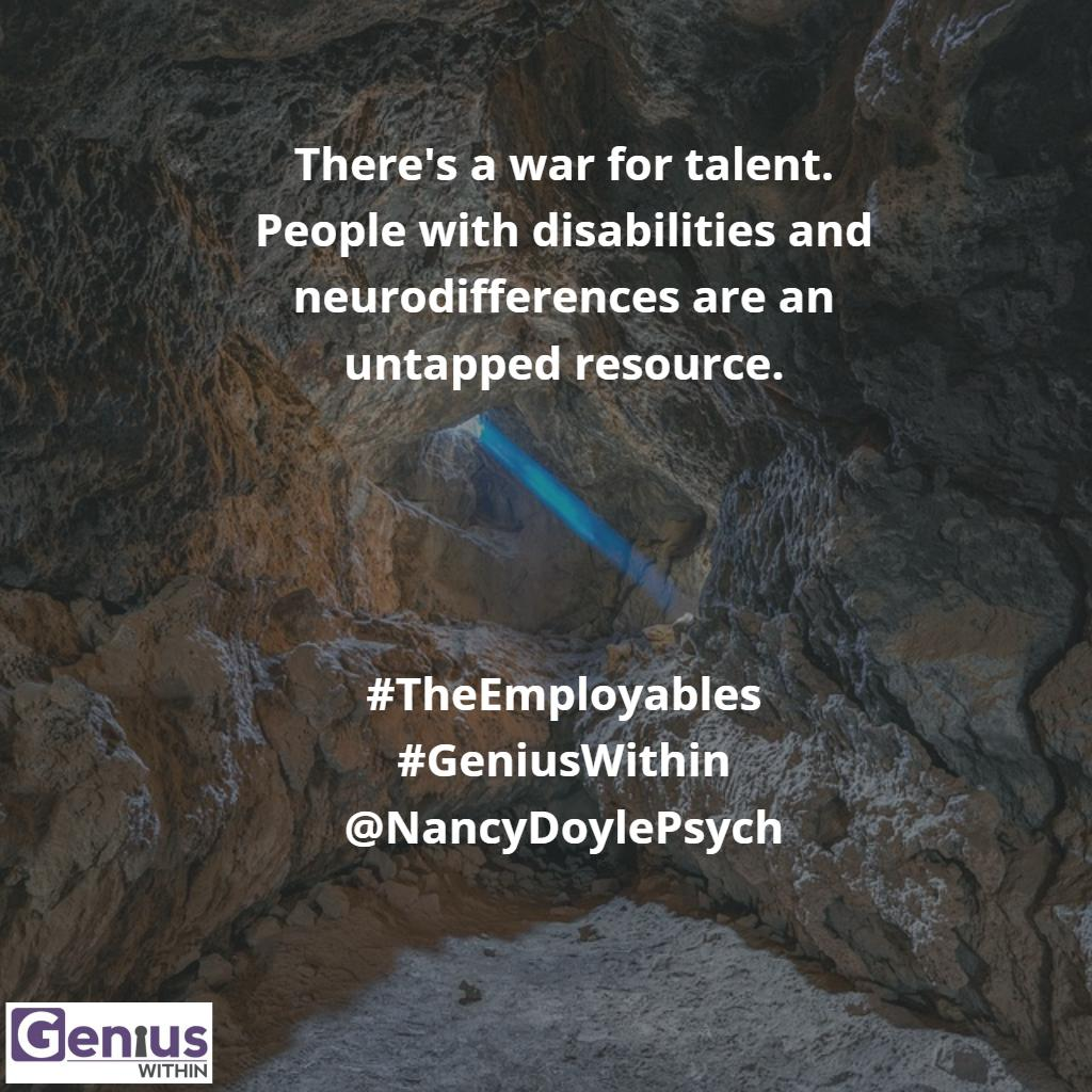 #GeniusWithin #TheEmployables @AETV  New blog post ..... Why Employers should be watching the show #IOPsych #SHRM https://geniuswithin.org/blog/genius-within-why-employers-need-to-be-watching-theemployables/…
