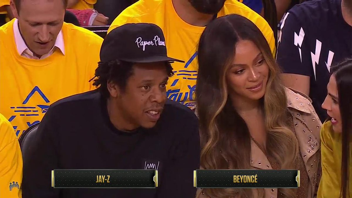Photos: The Woman Sitting Next To Beyonce At Game 3 Has Been Identified