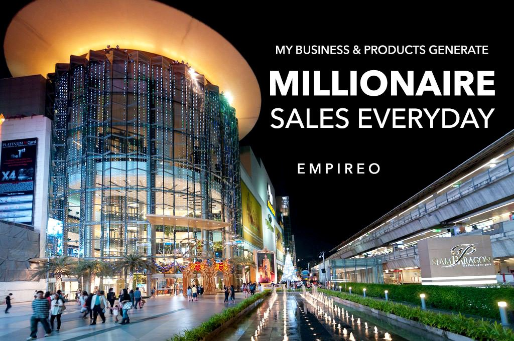 """My Business and my Products generate #MILLIONAIRESALES every day.  """"QUANTUM LEAP TO MILLIONAIRE""""💰💎 ▶️ I want to know more about the program https://empireoquantumleap.com/  #MILLIONAIREMINDSET #LUXURYLIFE #10x_MONEYRESULTS #QUANTUMLEAPTOMILLIONAIRE"""
