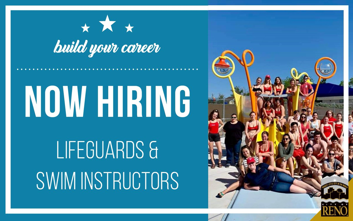 City Of Reno Jobs >> City Of Reno On Twitter Now Hiring Looking For A Summer Job We