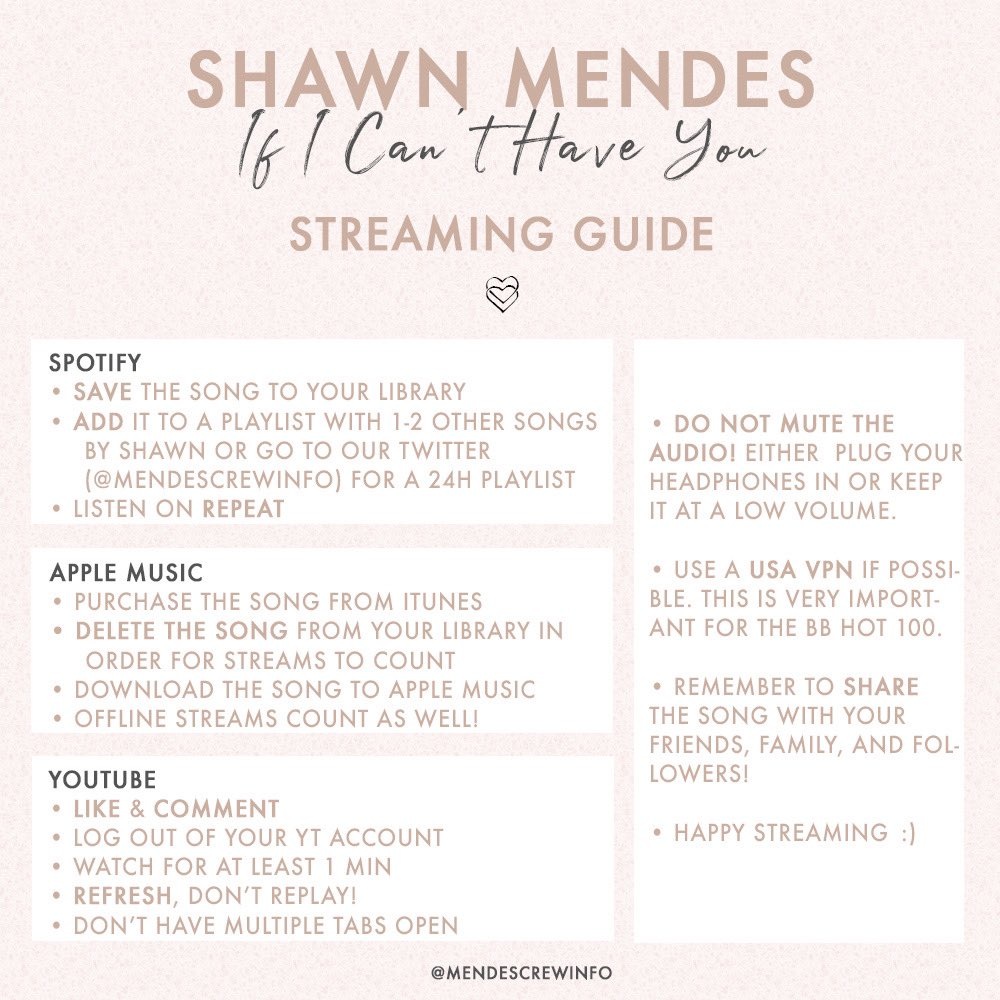 Shawn Mendes Updates @MendesCrewInfo Timeline, The