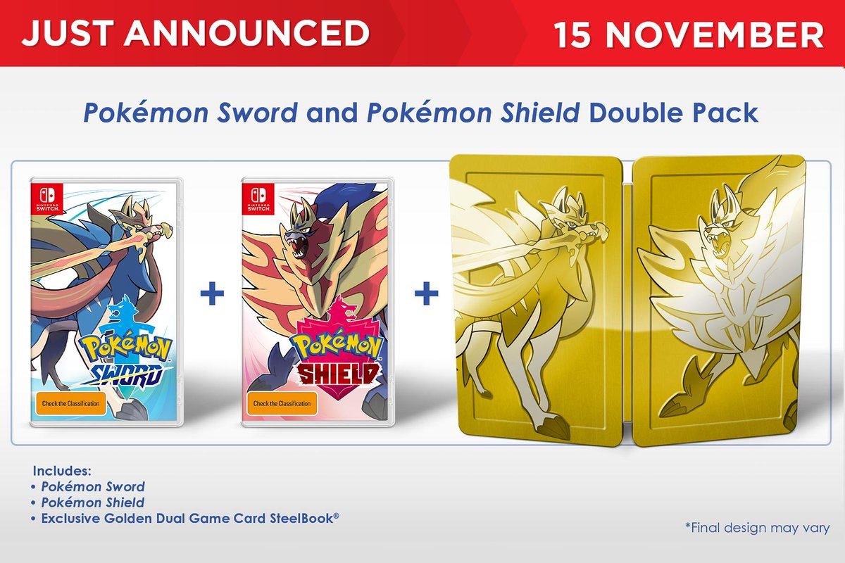 Eb Games Australia On Twitter Just Announced Pokemon Sword