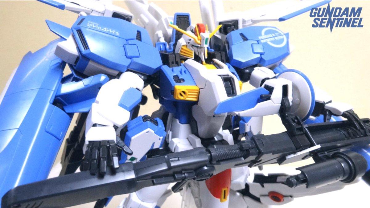 ヲタファ Wotafa 今日の動画 ガンダムセンチネル ガンダムセンチネル パーツ数最大 Mg界のラスボス笑 完全変形 Mg 1 100 Ex Sガンダム ヲタファのじっくり変形合体レビュー Gunpla Mg Ex S Gundam T Co Ku59g4a8fa シェアしてね ー