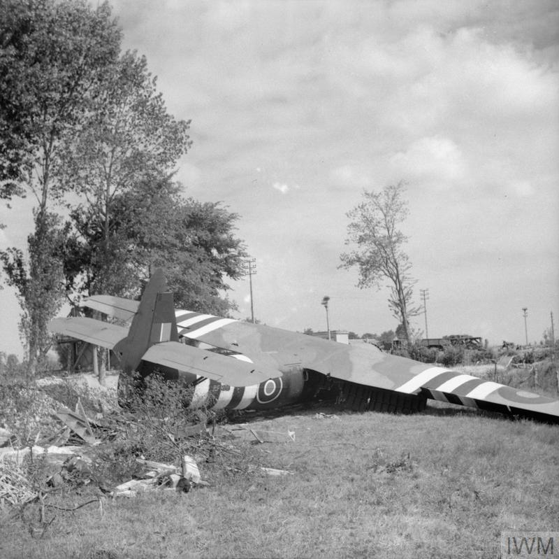 After an 80 minute flight, the gliders begin to land at the Orne Bridges. The infantry, commanded by Major John Howard, pour from the gliders and assault the bridges.  The lightly armed British quickly take the bridges and wait for reinforcements and the Germans. #DDay75