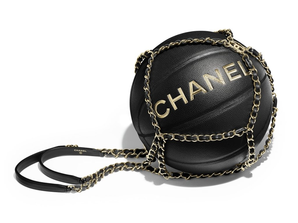 1b32cd385 Bagaholicboy always wanted a @CHANEL basketball. And so would you... https