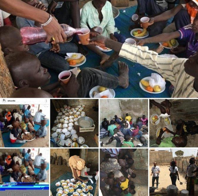Eid avec les enfants talibès. Que du bonheur !  #kebetu #Senegal #dakar #senegalesetweeter #EidMubarak #child #talibè