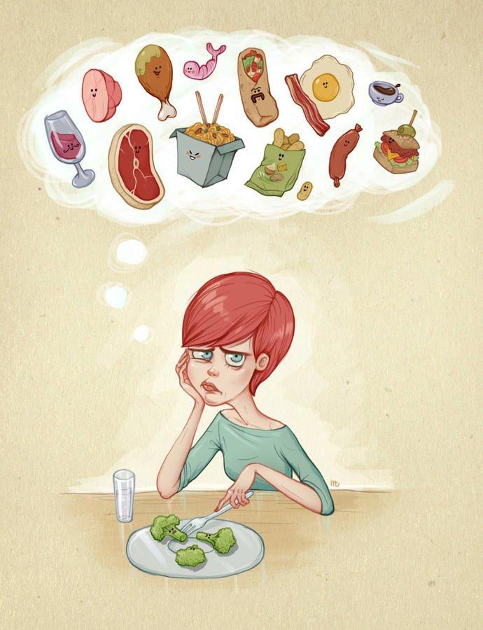 картинка про еду прикольные вместительные