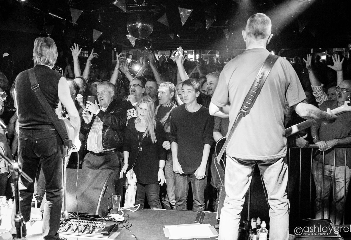 This was Dingwalls, London - our 1st show in November 2016 after 34 years  We weren't sure what to expect when we announced it.  Would fans turn out? Would they still be interested after all these years? What we weren't prepared for was for the show to sell out after one day. Wow