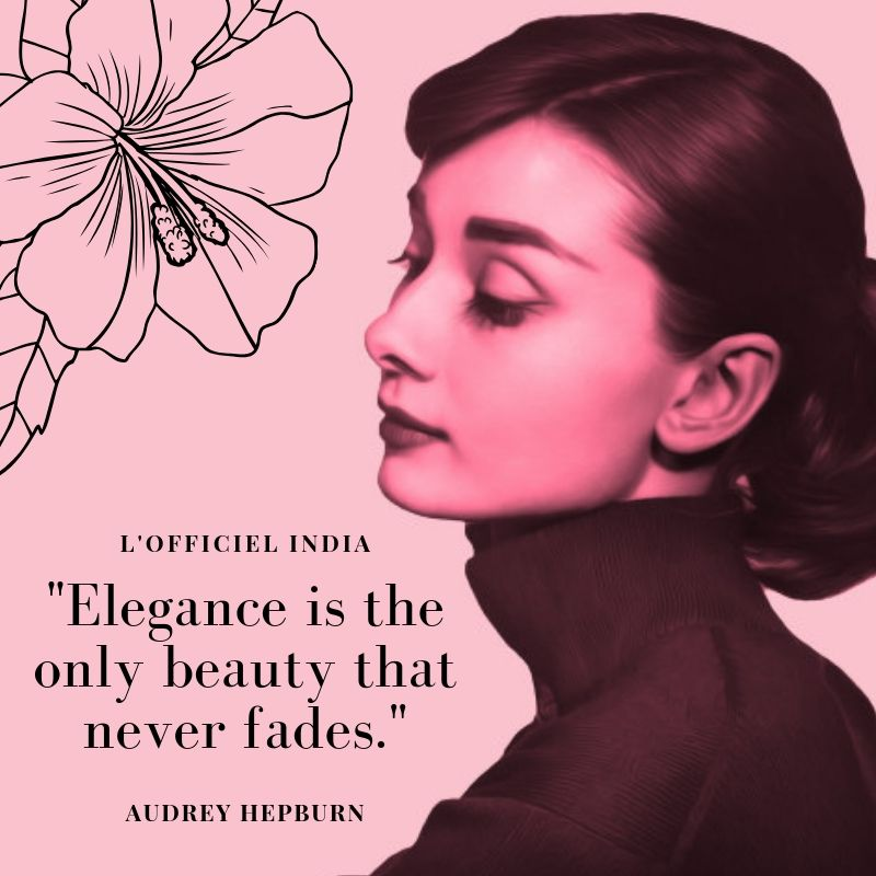 The queen of beauty and elegance pays you a visit.  #quotes #quoteoftheday #quotestoinspire #quotesdaily #aestheticquotes #audreyhepburn #audreyhepburnquotes #fashionquotes #beauty #beautyquotes #lofficiel #lofficielparis #lofficielindia