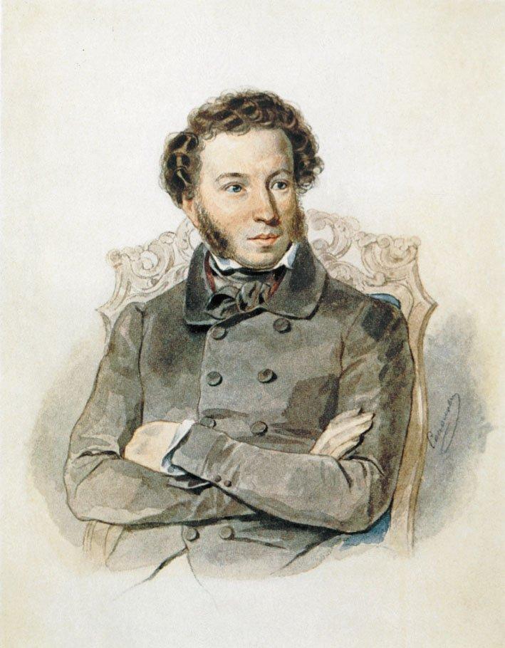 Веселые картинки о пушкине