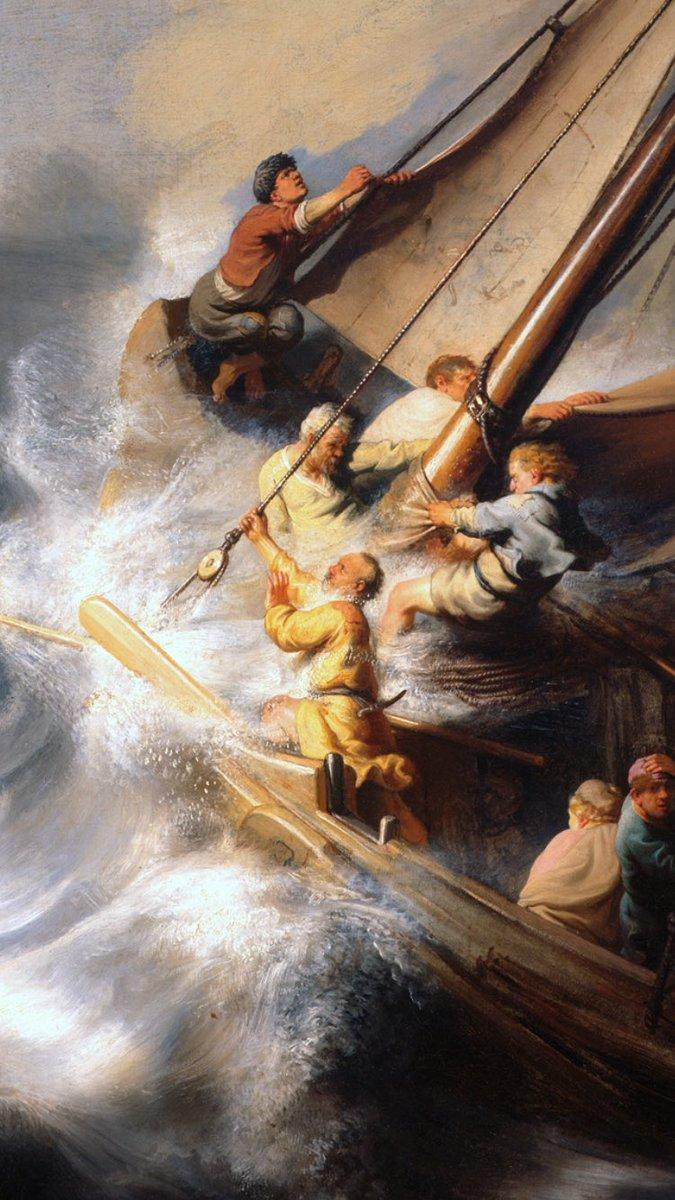 Historia Del Arte On Twitter La Tormenta En El Mar De Galilea Es Una Pintura De Rembrandt De 1633 Está Obra Barroca Junto A Otras 12 Fueron Robadas Del Museo Isabella Stewart