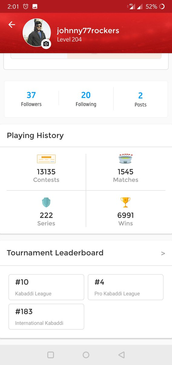 #Top 10 in iipkl also finished the league with good profits@dream11 @CricInformer @NarayananXi @sindbadsailor_R @erkeshav04 @Lokendr25305587 @BishnoiTigers29 @mihumanities